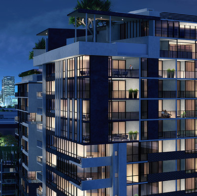 La Vida Apartments, Newstead